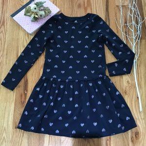 Cute heart dress